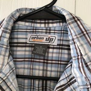 urban pipeline Shirts - Men's S plaid shirt
